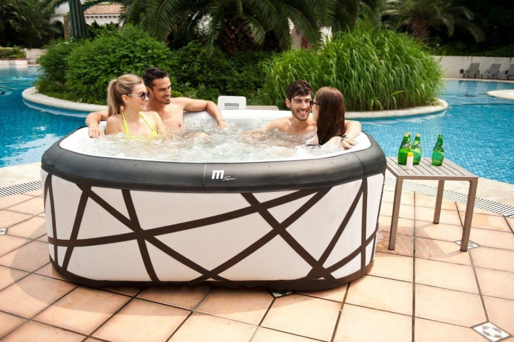 What do you get when you buy an inflatable jacuzzi? - Hot Tubs For You